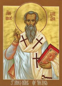 The Martyrdom of St. James the Apostle, Brother of the Lord and 1st Bishop of Jerusalem