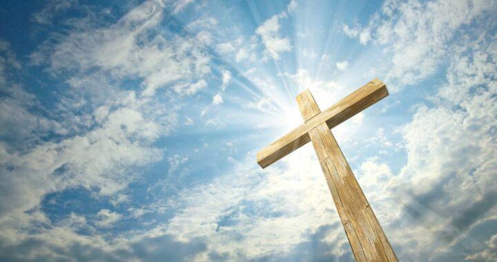Cross in Sky Line